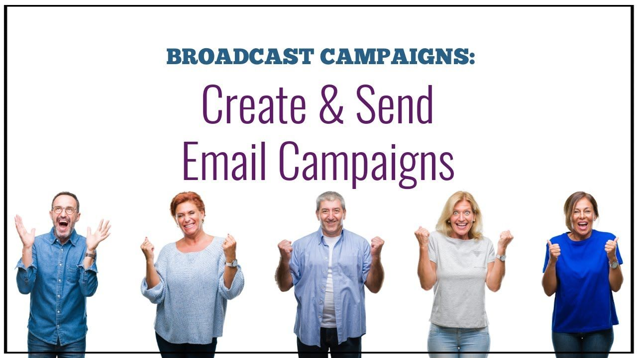 Create send email campaigns in 2020 email campaign