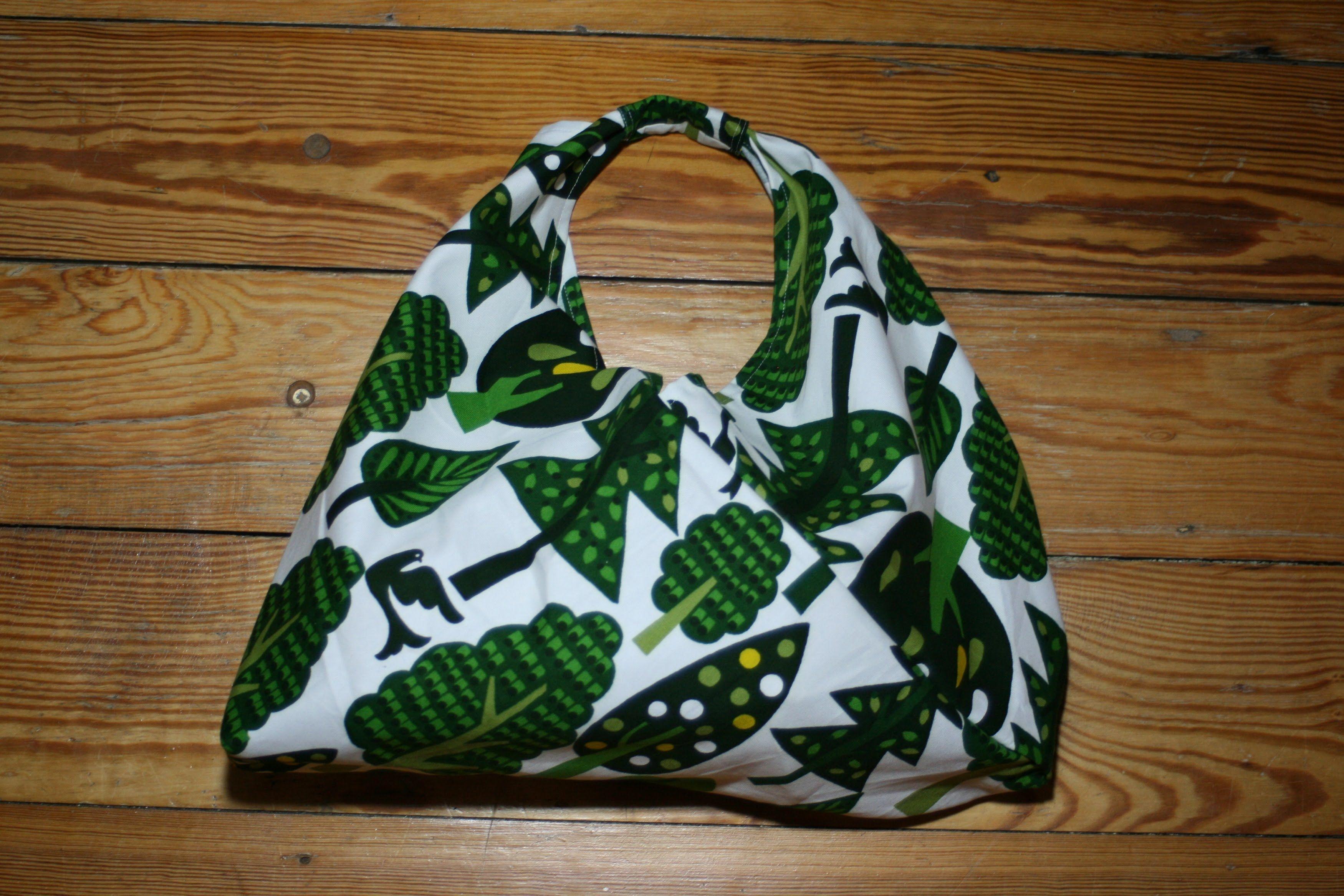 Origami-Bento-Bag nähen | Nähen | Pinterest | Origami, Nähen und ...