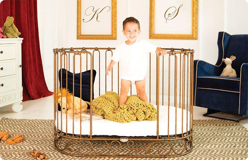 Baby Crib Designer Nursery Luxury Crib Oval Baby Bed