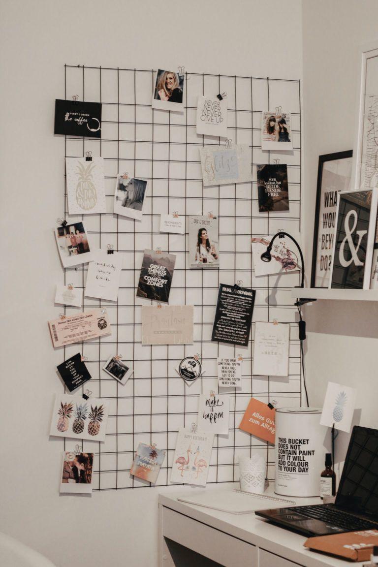 Fotogitter Selber Machen Diy Lifewithnathalie Com Foto Gitter Rauminspiration Einrichtungsideen Schlafzimmer