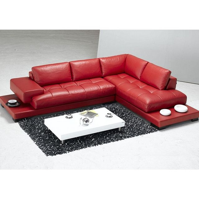 red leather sofa sectional sofa tosh furniture red sectionals rh pinterest com