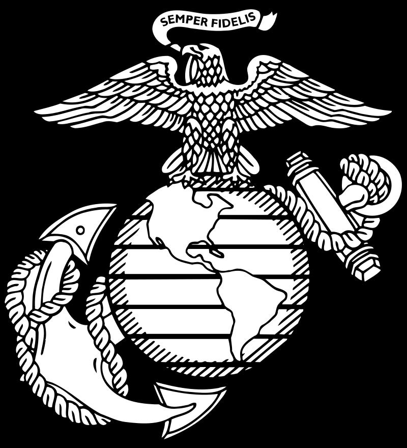 File Globeanchor Svg Marines Logo Usmc Emblem Marine Corps Emblem