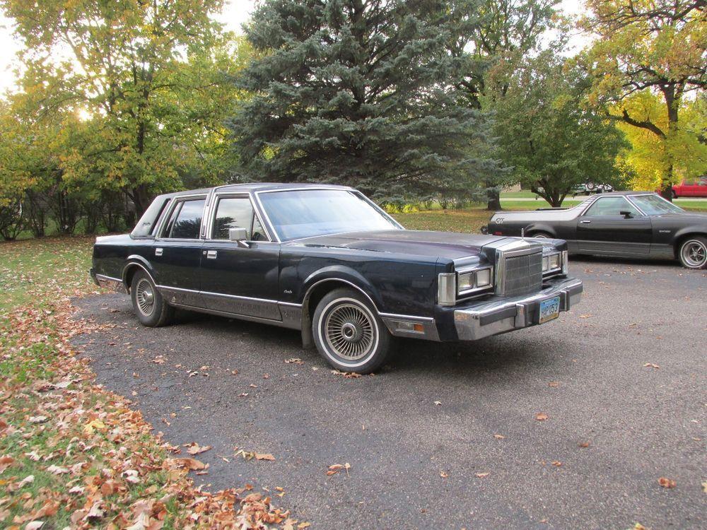 ebay 1988 lincoln town car signature series 1988 lincoln town car rh pinterest com