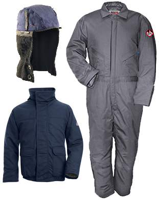 insulated winter cold weather frc fire retardant clothing safety rh pinterest com