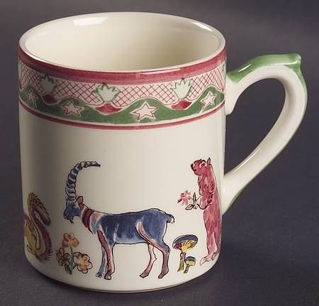 Your Favorite Brands French Country Tableware Mug & Your Favorite Brands French Country Tableware Mug | animal pottery ...