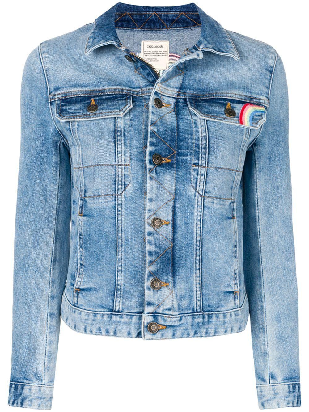 14266c5ec Zadig&Voltaire 'LOVE' denim jacket - Blue in 2019   Products ...