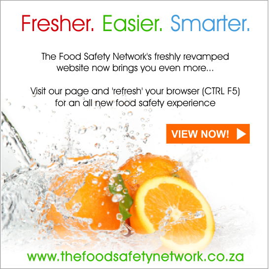 Come visit out new site - www.thefoodsafetynetwork.co.za