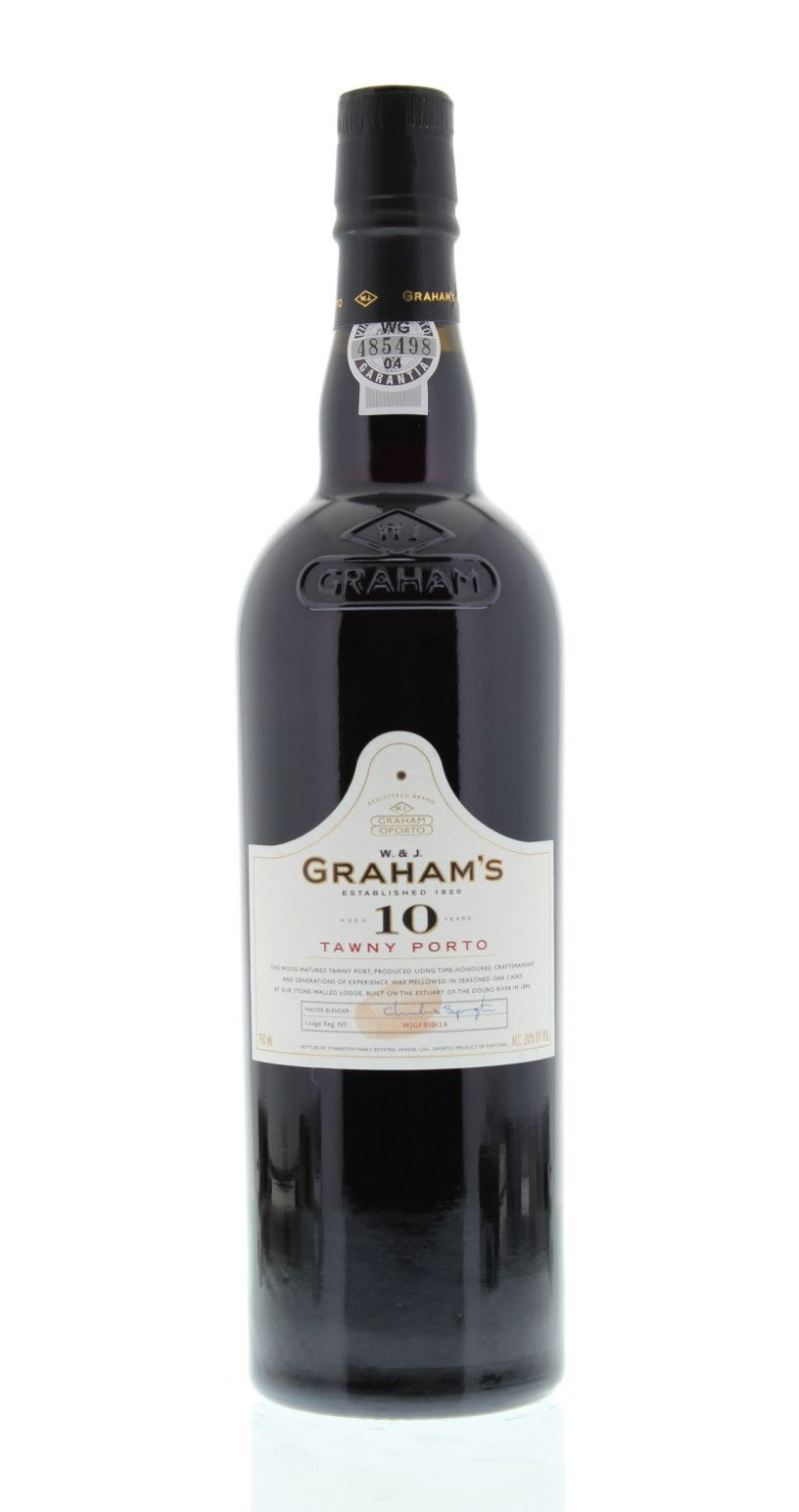 Graham S 10 Year Old Tawny Port Grape Spirit Wine Bottle Desserts In A Glass