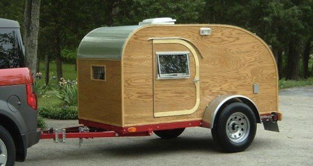 Build a Teardrop Camper in 10 Easy Steps | Diy teardrop ...