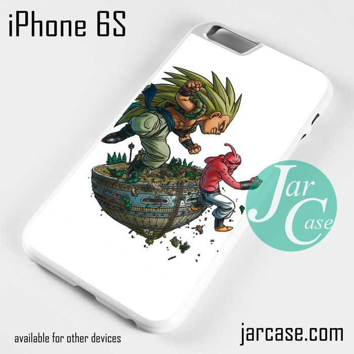 Dragon Ball Gotanks VS Super Buu Y Phone case for iPhone 6/6S/6 Plus/6S plus