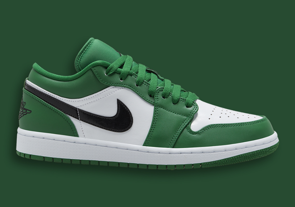 Air Jordan 1 Low Pine Green 553558 301 Release Info Sneakernews Com In 2020 Jordan 1 Low Air Jordans Jordan Low
