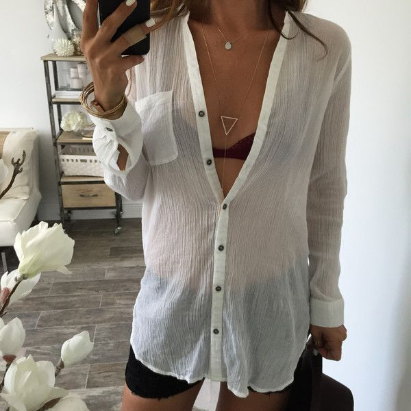 Cory Hi-Low blouse