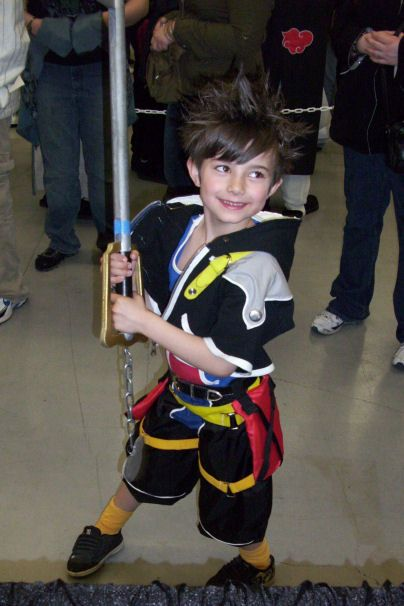 Kid Sora Cosplay Children Cosplay Kingdom Hearts Cosplay Sora