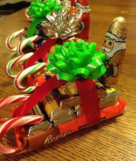 Подарки новогодние детям своими руками