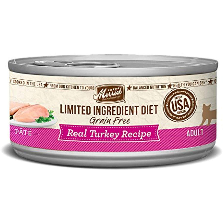 Merrick Grain Free Limited Ingredient Diet Turkey Wet Cat