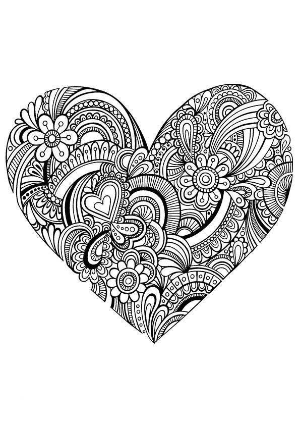 "Онлайн школа Арт-терапии ""Веселая сова"" | Graphic hearts ..."