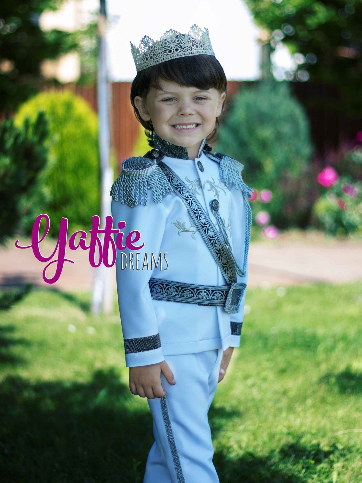 Wedding Ring Bearer suit Prince outfit Halloween costume disney ...