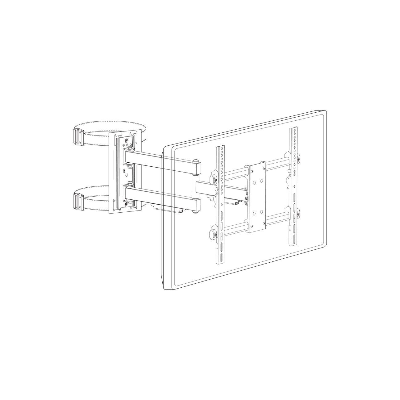 Column Tv Mount
