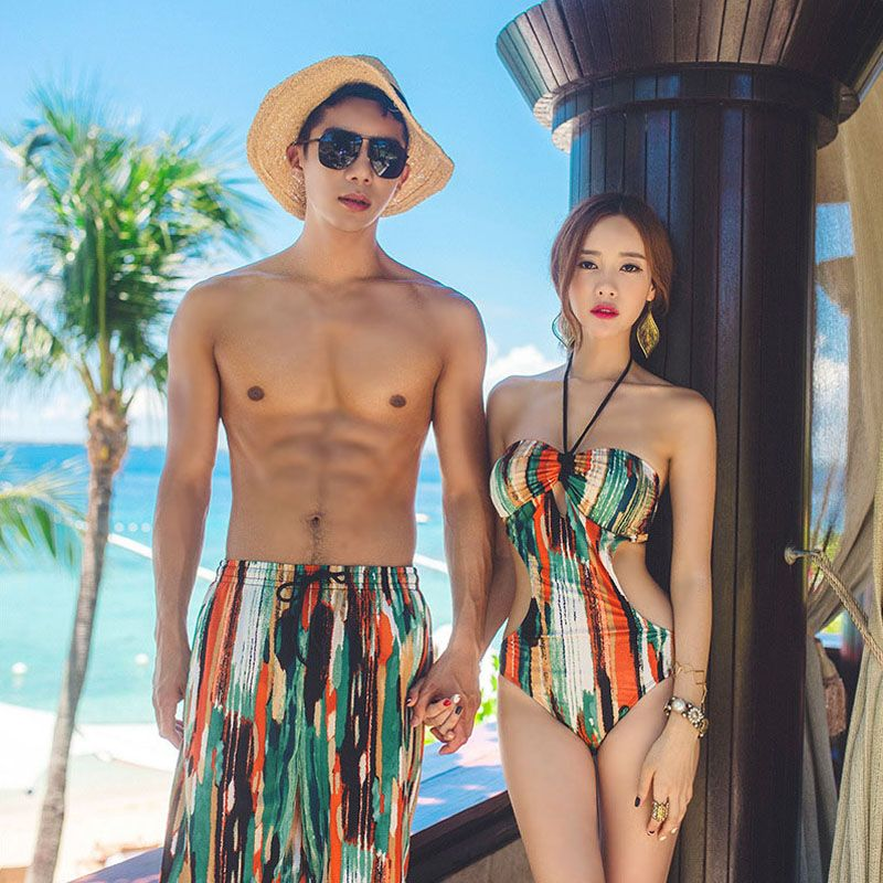 1fc39f6e9d Couple Matching Bikini Swimwear Set Canvas | OceanStar21 Products ...