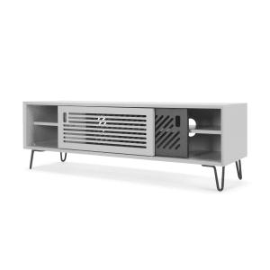 Tv Bank Grau pointillee tv bank grau und weiß modernes design für mehr