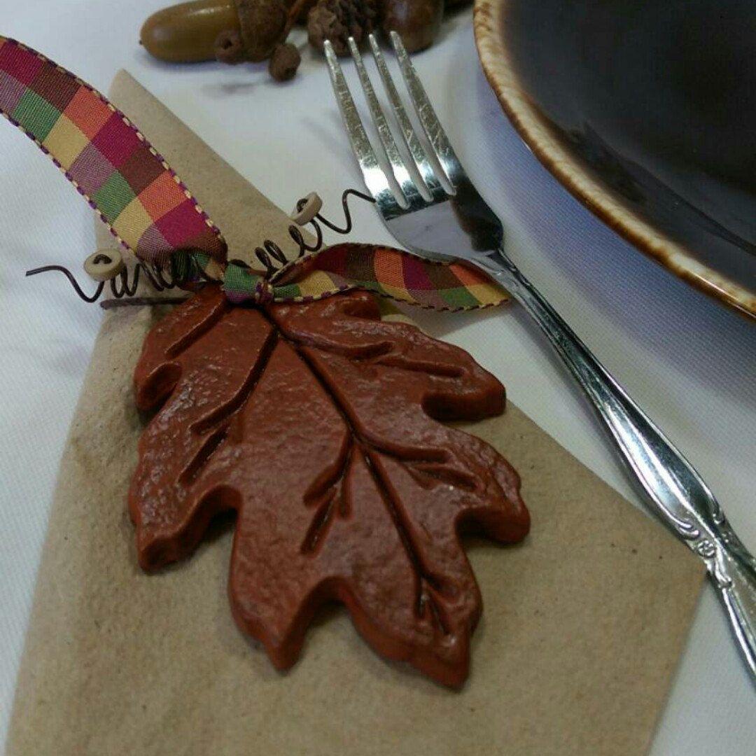Autumn Napkin Rings, Fall Table Decor, Acorn Napkin Rings