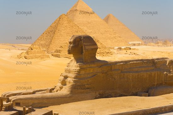 Great+Pyramid+of+Giza+Aerial | Photo Sphinx Side View