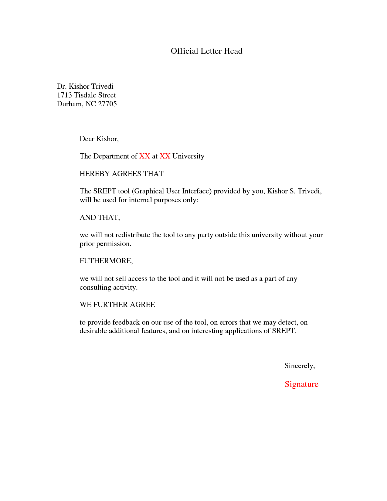Official Letter Online Business Money Partofficial Letter Business