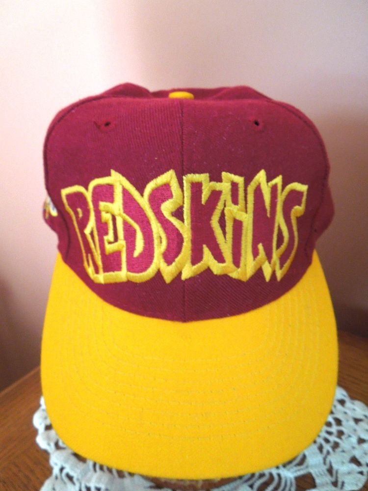 Vintage Washington Redskins Hat Annco Snapback Team NFL Wool Embroidered  Rare  Annco  BaseballCap c7020cc2f