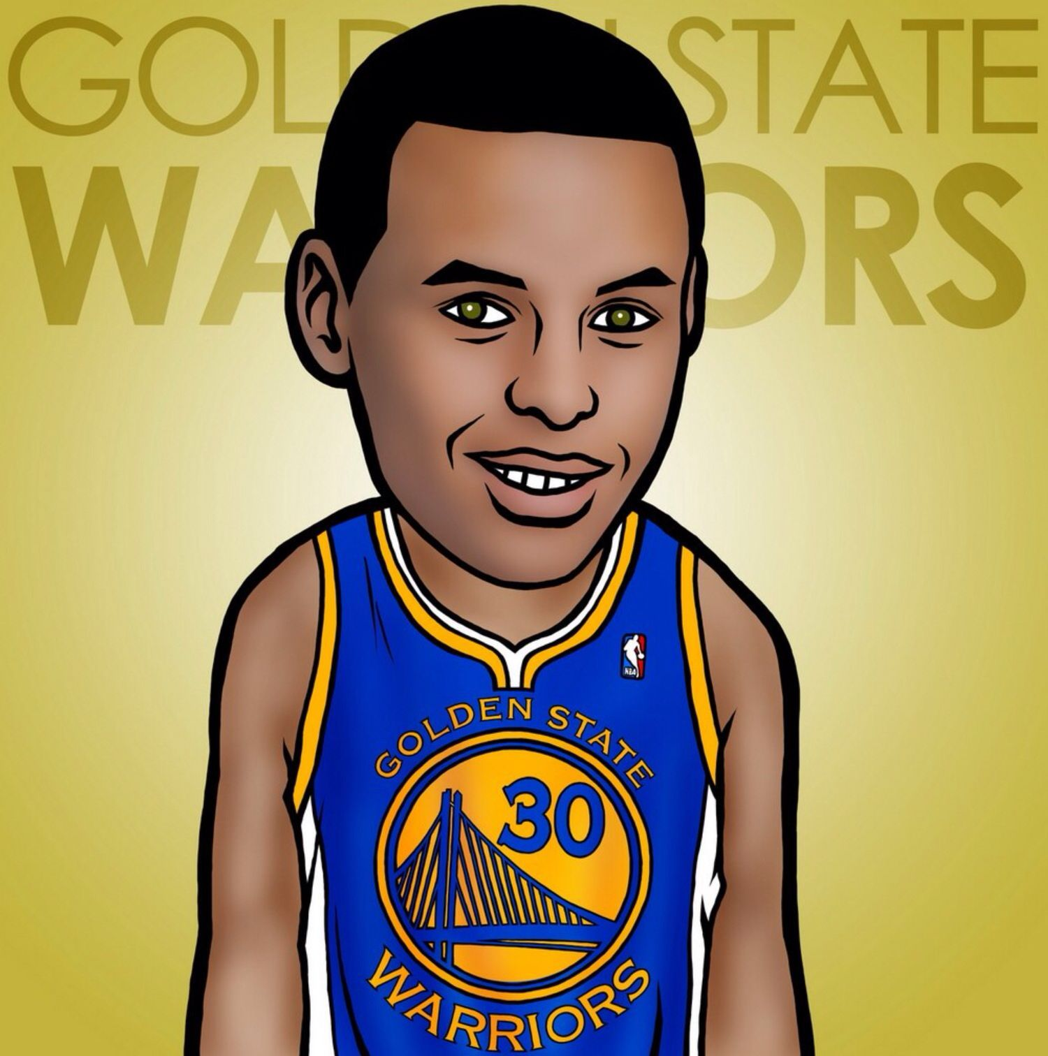 Stephen Curry | NBA cartoon image | Cartoon wallpaper ...
