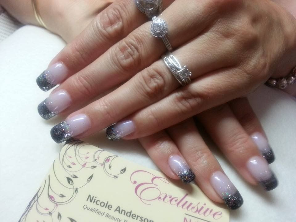 Exclusive Nails Specializes In Acrylic Gel And Overlay Cnd Shellac Manicure Pedicure Nail Art