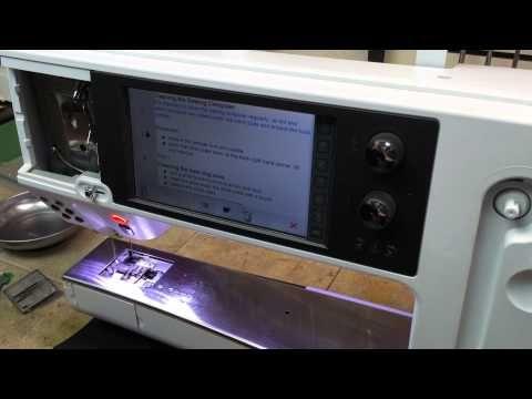 Bernina 830 / 880 Thread Cutter Cleaning - YouTube | Bernina