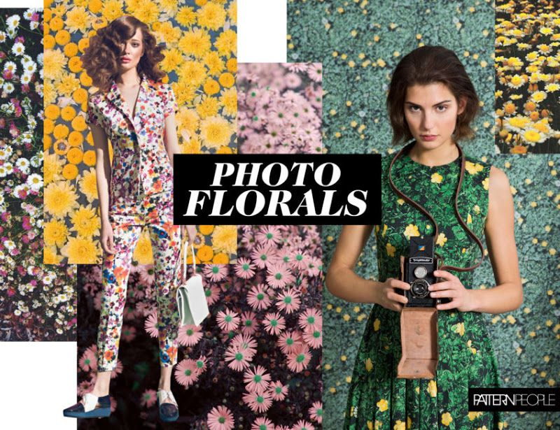 Trends pattern people print color ss 2018 for Wandfarbe trend 2018