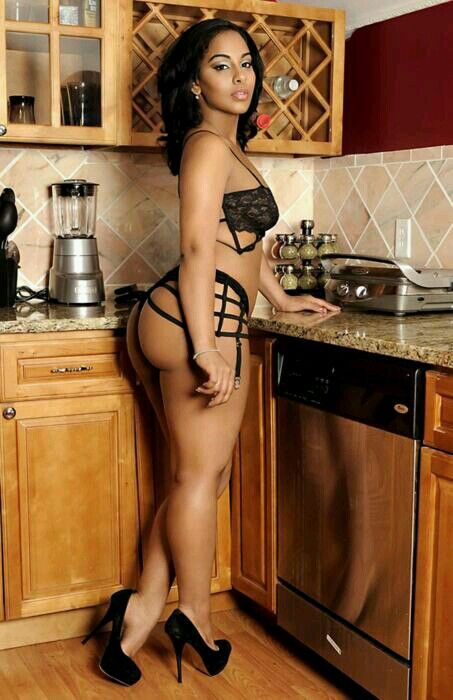 Have thought Sexy black women in the kitchen sorry, that