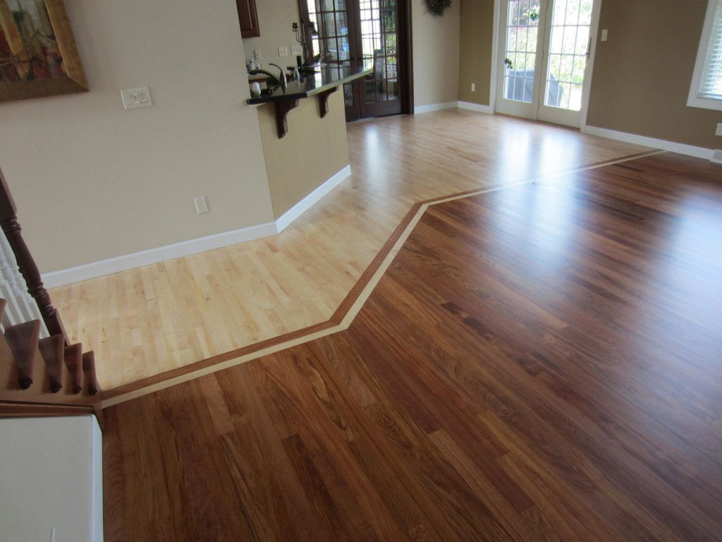 Brazilian Cherry Maple Hardwood Oshkosh Wi Kitchen