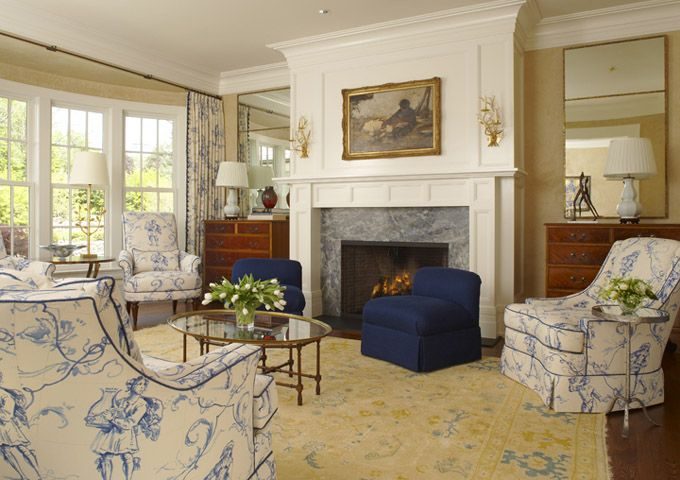 Traditional, Transitional Eclectic Living Room. Photo By Beth Singer.  Jones Keena
