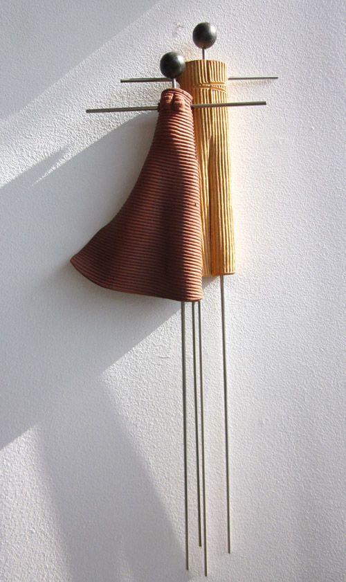 Ζευγάρι Τερακότα     Ontule Terracotta Couple 25X60cm