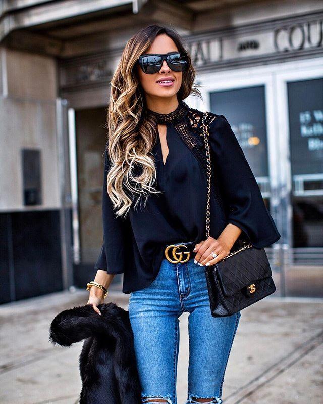 f90a99957d2 Miamiamine Gucci belt and Chanel bag