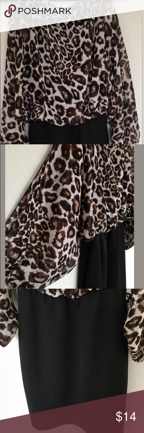 Emerald sundae cheetah print mini dress juniors s cheetah print