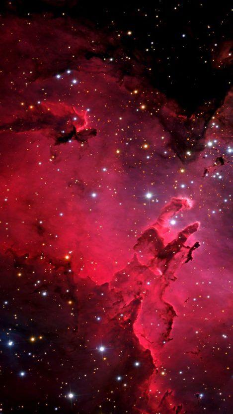 Nebula Galaxy iPhone background