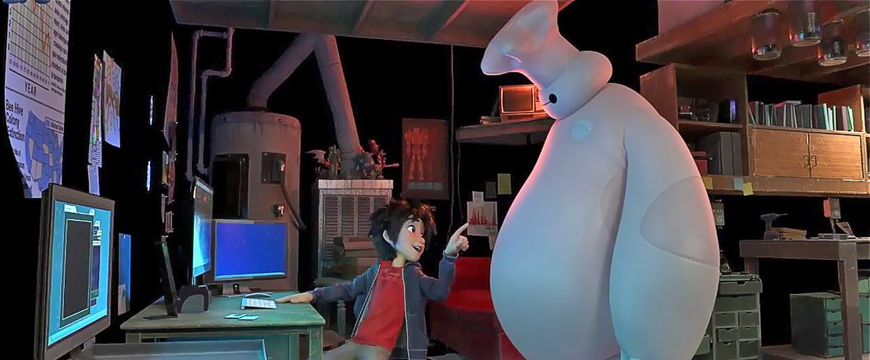 The heroes of Big Hero 6 and bloopers equals awesomeness