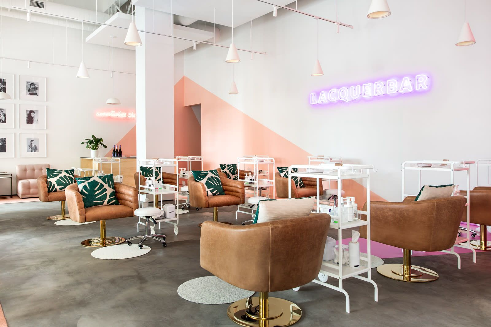 Instagramable Urban Modern Nail Bar With Feminist Touches Berkeley Ca Event Re