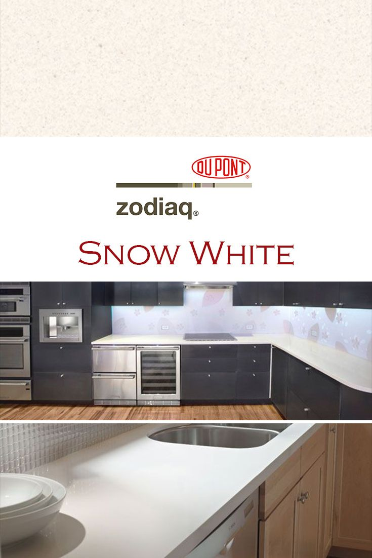 Snow White By Zodiaq Is Perfect For A Kitchen Quartz Countertop Installation White Quartz Countertop Quartz Kitchen Countertops How To Install Countertops