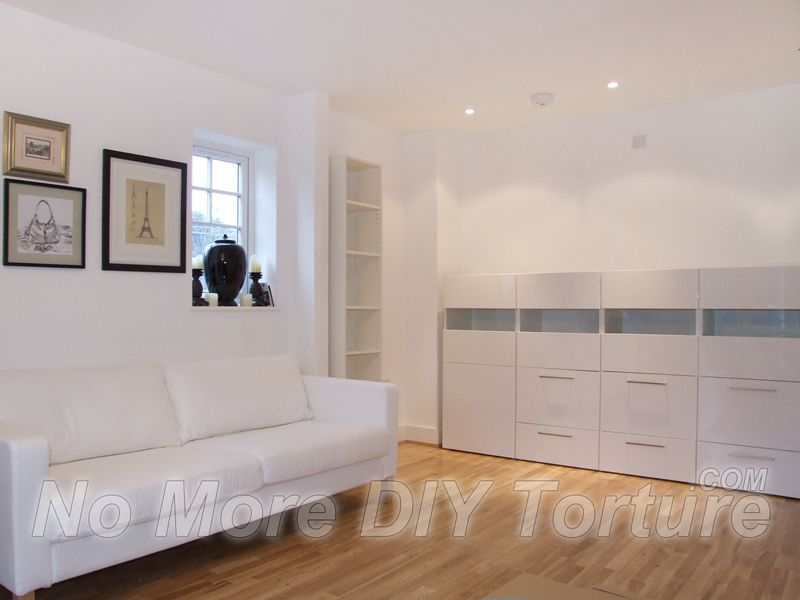 ikea karlstad sofa besta storage system bedroom - Wall Storage Systems Bedroom