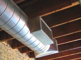 Custom Ductwork Design Fabrication Fiberglass Sheet Metal Duct Vaulted Ceiling Lighting Duct Work Hvac Design