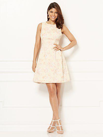 Eva Mendes Collection - Maria Dress - Jacquard - New York & Company ...