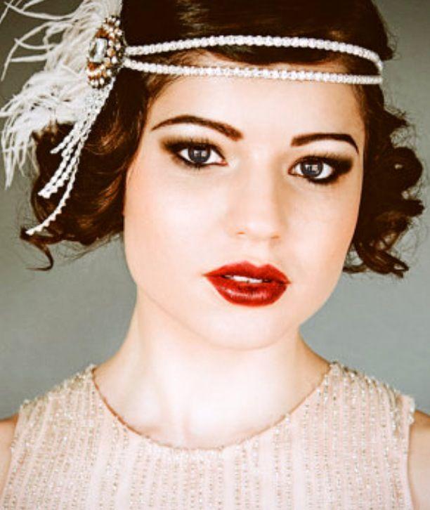 Gatsby makeup! | Roaring 20's | Pinterest | Gatsby makeup ...