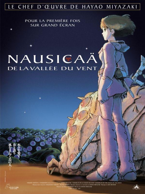 ジブリ映画の海外版ポスターが日本と雰囲気が全く違う 映画 ポスター ナウシカ 漫画 ジブリ