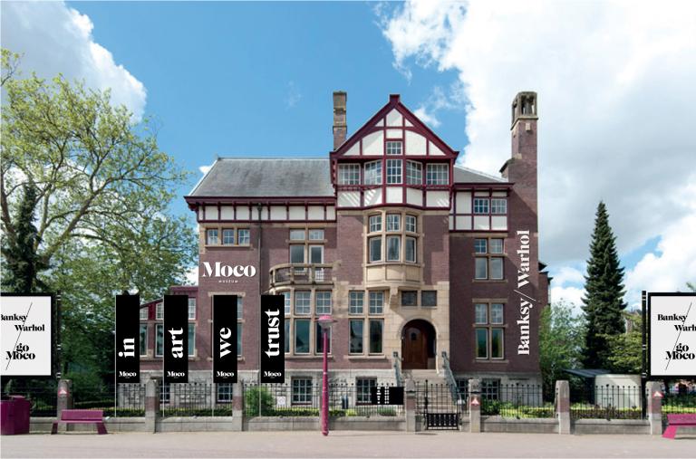 Modern Contemporary Art Museum Amsterdam