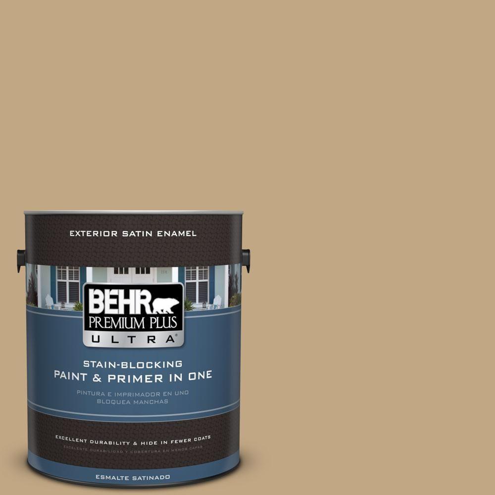 BEHR Premium Plus Ultra 1-gal. #N290-5 Pocket Watch Satin Enamel Exterior Paint
