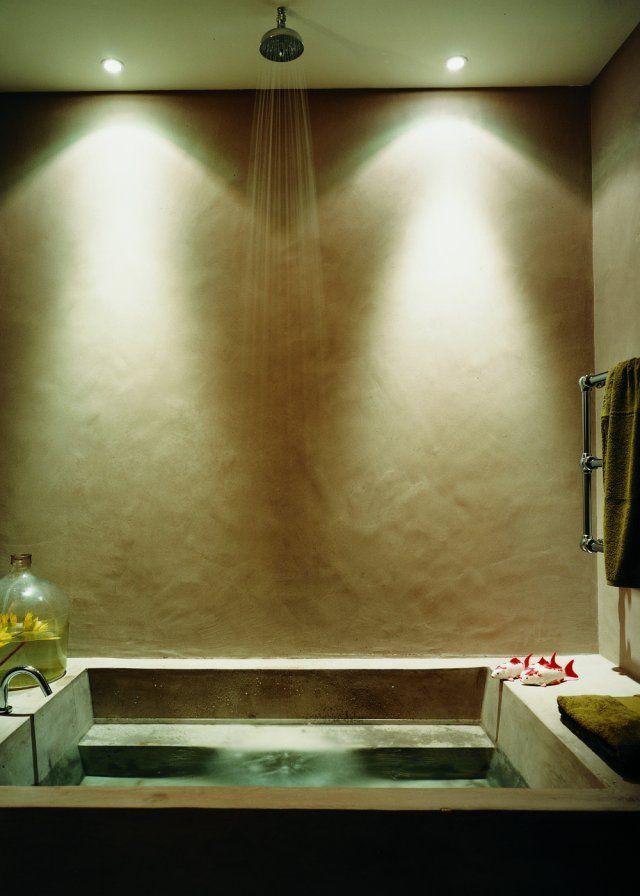 Inspiration : le béton dans la salle de bain, matériau en vogue ...